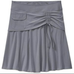 Athleta Wherever Cobblestone Gray Skort